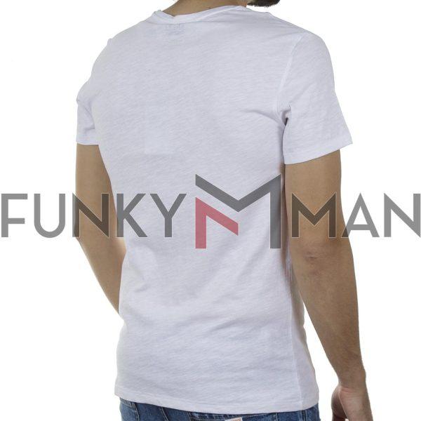 Κοντομάνικη Μπλούζα T-Shirt BLEND 20709780 SS20 Λευκό