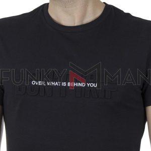 Κοντομάνικη Μπλούζα T-Shirt BLEND 20709788 SS20 Μαύρο