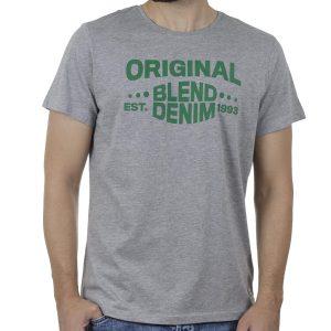 Κοντομάνικη Μπλούζα T-Shirt BLEND 20709800 SS20 Γκρι