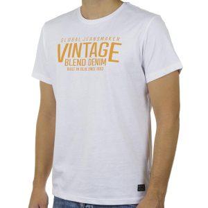 Κοντομάνικη Μπλούζα T-Shirt BLEND 20709800 SS20 Λευκό