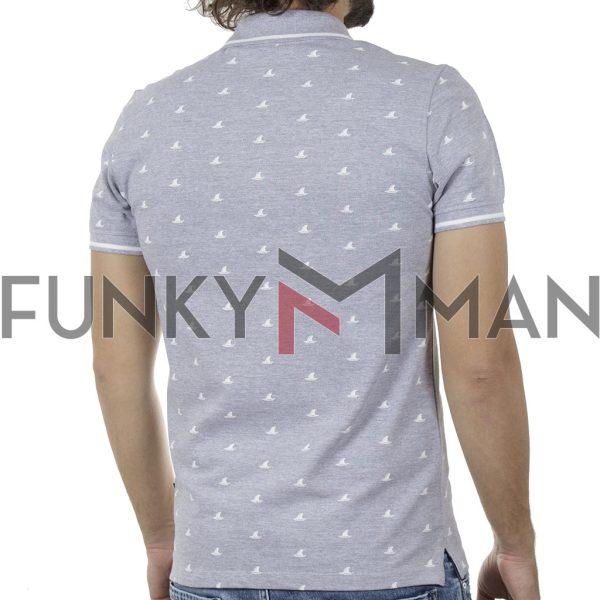 Κοντομάνικη Μπλούζα POLO BLEND 20709804 SS20 Γκρι