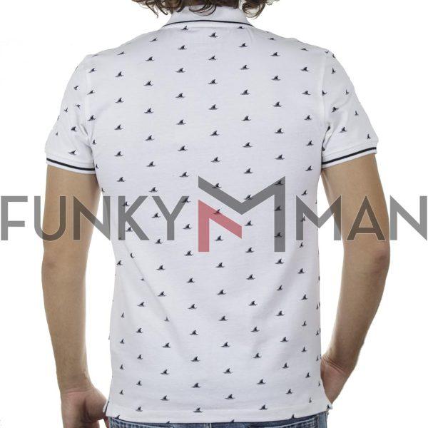 Κοντομάνικη Μπλούζα POLO BLEND 20709804 SS20 Λευκό
