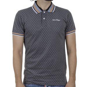 Κοντομάνικη Μπλούζα POLO BLEND 20709805 SS20 Σκούρο Γκρι