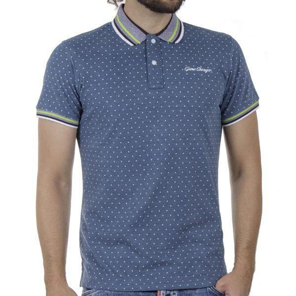 Κοντομάνικη Μπλούζα POLO BLEND 20709805 SS20 Μπλε