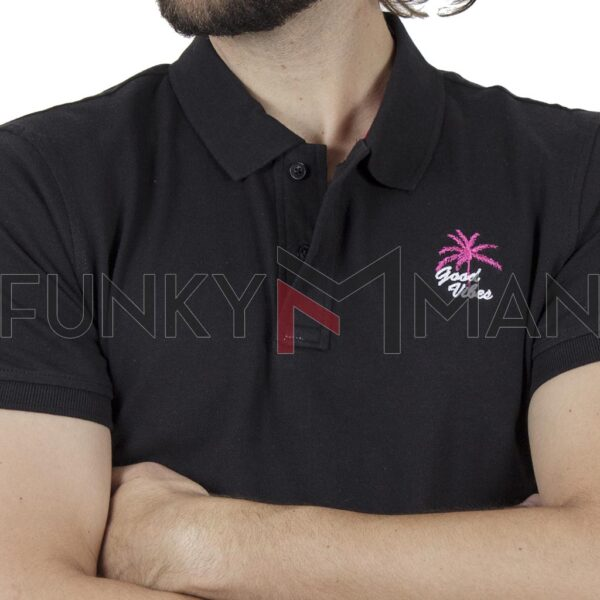Κοντομάνικη Μπλούζα POLO BLEND 20709806 SS20 Μαύρο