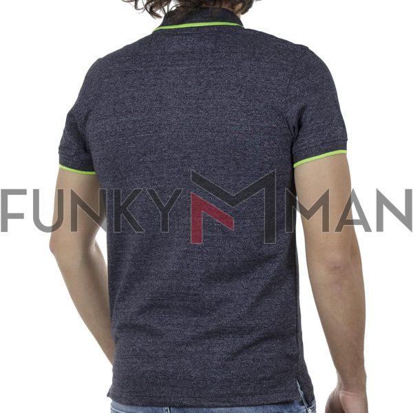 Κοντομάνικη Μπλούζα POLO BLEND 20709810 SS20 Navy