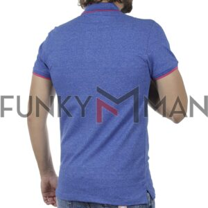 Κοντομάνικη Μπλούζα POLO BLEND 20709810 SS20 Ρουά Μπλε