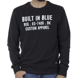 Φούτερ Βαμβακερή Μπλούζα BLEND 20709842 SS20 Μαύρο
