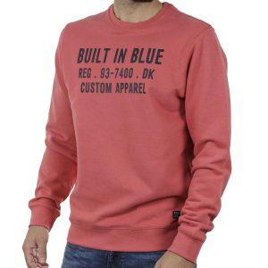 Φούτερ Βαμβακερή Μπλούζα BLEND 20709842 SS20 Πορτοκαλί