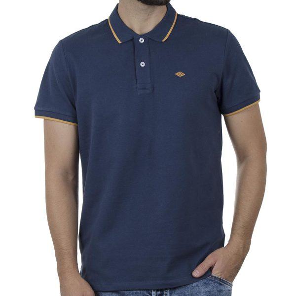 Κοντομάνικη Μπλούζα POLO BLEND 20710571 SS20 Navy