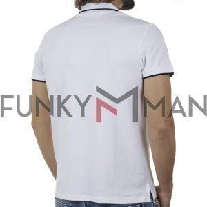 Κοντομάνικη Μπλούζα POLO BLEND 20710571 SS20 Λευκό