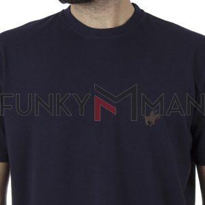 Κοντομάνικη Μπλούζα Pennie T-Shirt CARAG 99-222-20N SS20 Navy