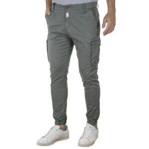 Cargo Παντελόνι Slim Fit με Λάστιχα COVER CANYON T0185 SS20 Χακί