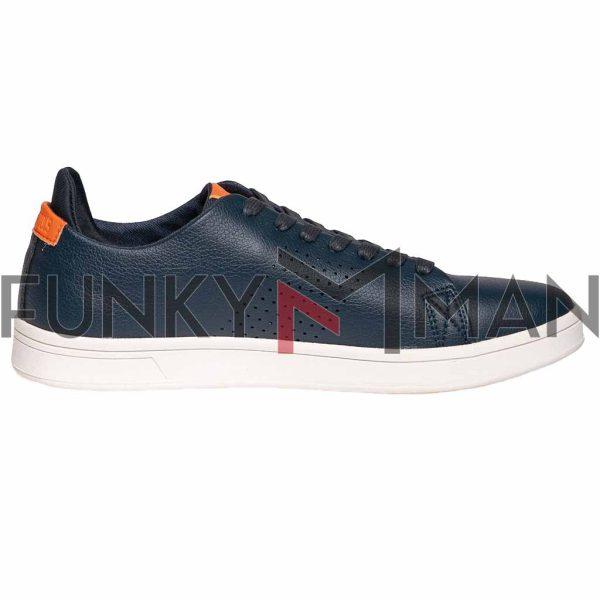 Ανδρικά Παπούτσια HEAVY TOOLS Classic Look Sporty Trainer UNJOVE SS20 Navy