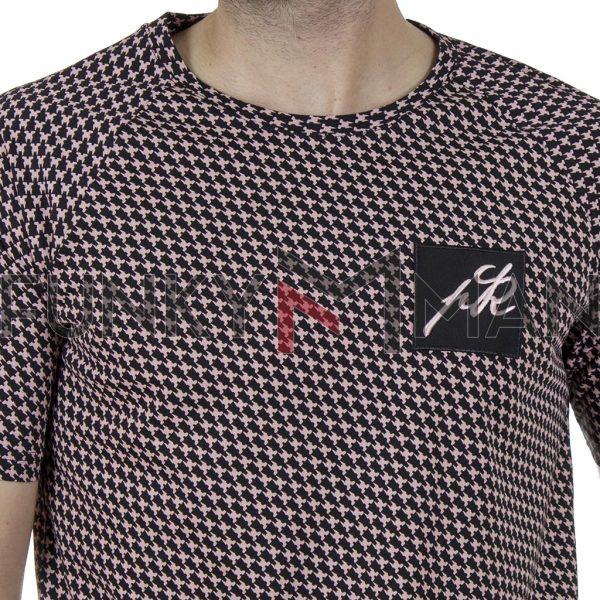 Κοντομάνικη Μπλούζα Fashion T-Shirt Ponte Rosso 20-1041 ROACH SS20 Ροζ