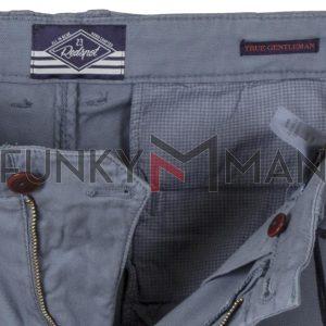 Βαμβακερό Παντελόνι Chinos Redspot RAFF SS20 Μπλε