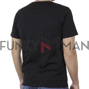 Κοντομάνικη Μπλούζα T-Shirt SNTA SSC-1-65 SS20 Μαύρο