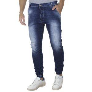 Τζιν Chinos Παντελόνι με Λάστιχα BLADE W14 SS20 Μπλε