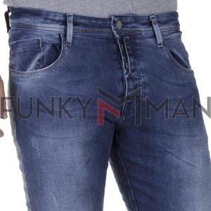 Τζιν Παντελόνι Slim Fit BLADE W8 SS20 Μπλε