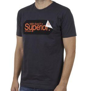 Κοντομάνικη Μπλούζα T-Shirt Cotton4all 20-913 SS20 Ανθρακί