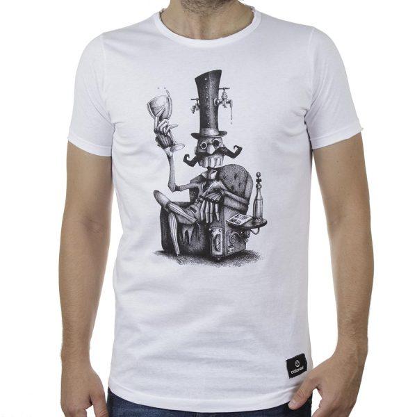 Κοντομάνικη Μπλούζα T-Shirt Cotton4all 20-918 SS20 Λευκό