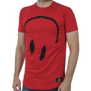 Κοντομάνικη Μπλούζα T-Shirt Cotton4all 20-932 SS20 Κόκκινο