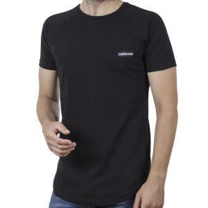 Κοντομάνικη Μπλούζα Fashion T-Shirt Cotton4all 20-938 SS20 Μαύρο