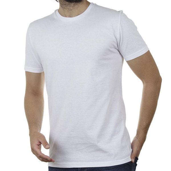 Κοντομάνικη Μπλούζα T-Shirt Cotton4all 20-947 SS20 Λευκό
