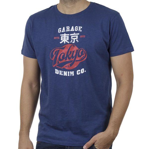Κοντομάνικη Μπλούζα Garage55 GAM00120904 SS20 Indigo