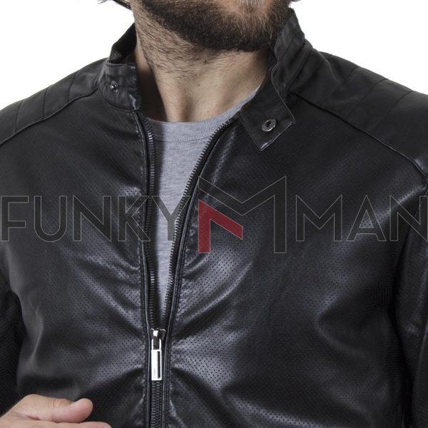 Biker Jacket SPLENDID 43-201-019 SS20 Μαύρο