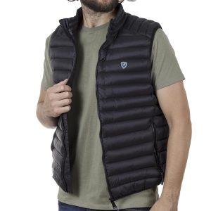 Αμάνικο Μπουφάν Puffer Vest Jacket SPLENDID 43-202-001 SS20 Μαύρο