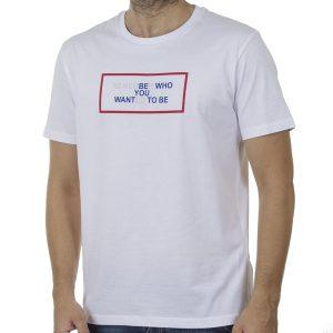 Κοντομάνικη Μπλούζα T-Shirt Celio REXNEUF SS20 Λευκό