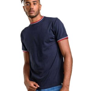 Κοντομάνικο Crew Neck T-Shirt DUKE 600635 BATES 1 SS20 Navy