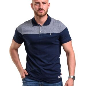 Κοντομάνικο Polo Shirt DUKE 600693 RIGBY SS20 Navy