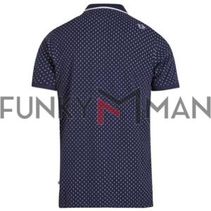Κοντομάνικο Polo Shirt DUKE 600694 ROGERS SS20 Navy