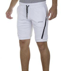 Μακό Βερμούδα PonteRosso 20-1032 Shorts SS20 Λευκό