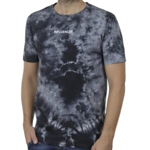 Κοντομάνικο Fashion T-Shirt PONTEROSSO 20-1044 BATIC SS20 Μαύρο