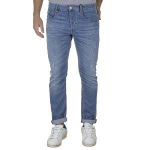 Τζιν Παντελόνι Slim Fit REDSPOT BONO ML SS20 Ανοιχτό Μπλε
