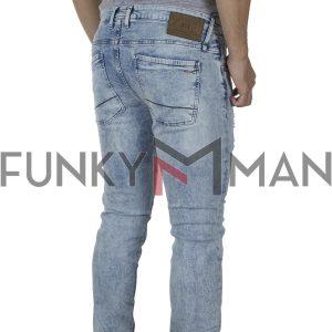 Τζιν Παντελόνι Slim Fit REDSPOT MARTINE L SS20 Ανοιχτό Μπλε