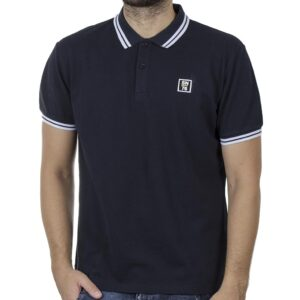 Κοντομάνικο Polo Shirt SNTA SSC-2-37 SS20 Navy