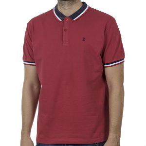 Κοντομάνικο Polo Shirt SNTA SSC-2-39 SS20 Κόκκινο