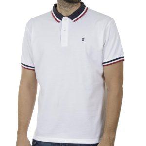 Κοντομάνικο Polo Shirt SNTA SSC-2-39 SS20 Λευκό