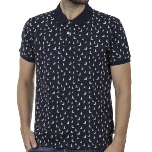 Fashion Polo Shirt SNTA SSC-2-48 SS20 Navy