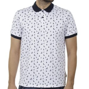 Fashion Polo Shirt SNTA SSC-2-48 SS20 Λευκό