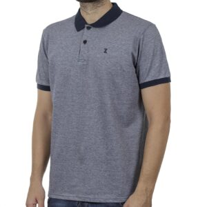 Κοντομάνικο Polo Shirt SNTA SSC-2-50 SS20 Navy