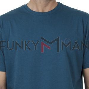 Κοντομάνικη Μπλούζα Pennie T-Shirt CARAG 22-200-20N SS20 Petrol