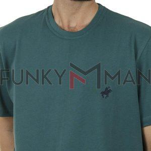 Κοντομάνικη Μπλούζα Pennie T-Shirt CARAG 99-222-20N SS20 Πράσινο