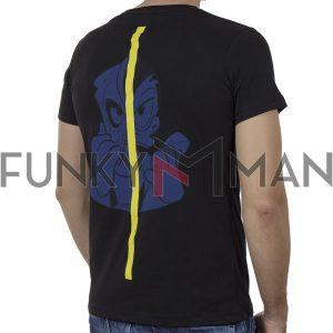 Κοντομάνικο T-Shirt COVER SPIRIT Y304 Μαύρο