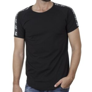 Κοντομάνικο Fashion T-Shirt FREE WAVE 21111 SS20 Μαύρο