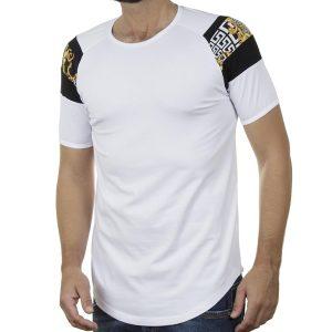 Κοντομάνικο Fashion T-Shirt FREE WAVE 21114 SS20 Λευκό